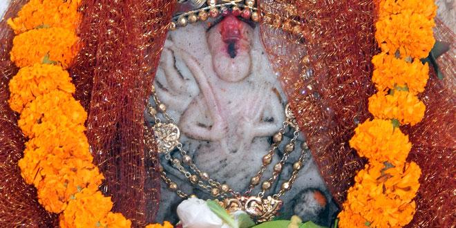 অলৌকিক তোপধ্বনিতে গড়জঙ্গলে দেবী দুর্গার পুজো শুরু হয়