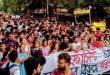 যাদবপুরে এবিভিপির তাণ্ডবের বিরুদ্ধে রাস্তায় গোটা বিশ্ববিদ্যালয়